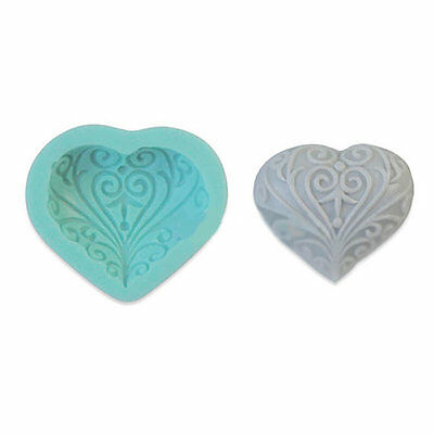 Heart Shape Flower Soap Mold Soap Mould Silicone Mold Candle Mold Resin Mold