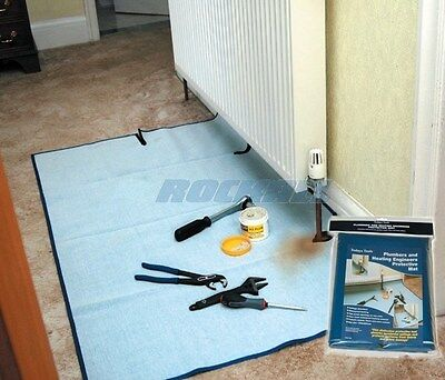 Todays Tools Protective Plumbing Plumbers & Heating Engineers Absorbent Mat