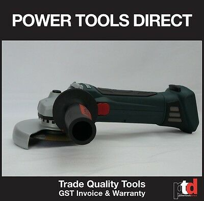 New Metabo 18V Cordless W18Ltx 125Mm Angle Grinder Bare Tool Only
