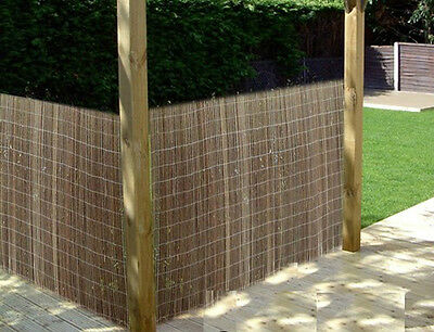 2m tall x 3m long Willow Garden Balcony screening for privacy wind break shade
