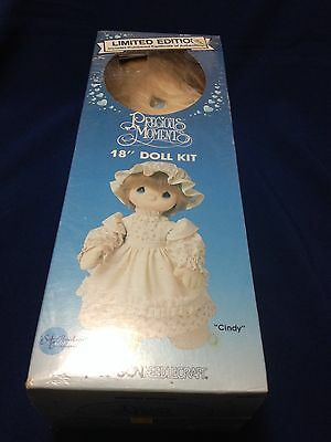 """Precious Moments Limited  Edition """"Cindy"""" 18"""" Doll Kit by Paragon"""