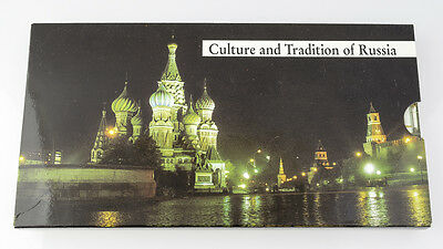 Russia Soviet Union 1 3 and 5 Ruble proof Cathedral, monument and famous Russian