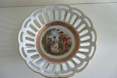 Dresden Dish- Angelica Kauffmann Style Neo Classical