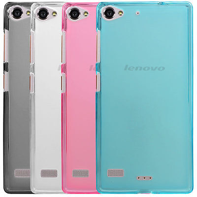 Screen protector + Soft Silicone Back Case Cover Skin For Lenovo VIBE X2