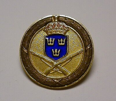 Sweden Military Shooting Badge