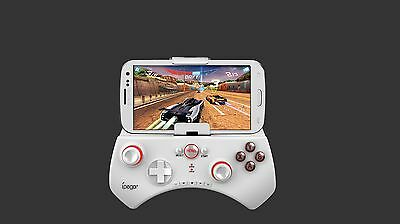 Ipega White Wireless  Bluetooth Game Controller for iPhone Galaxy smartphone PC