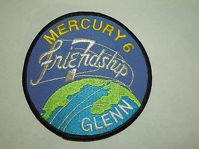 Crafts Nasa Mercury Mission 3-9 Embroidered Patches New Unopened Pack Of 6 Ab Spaceport Selling Well All Over The World Historical Memorabilia