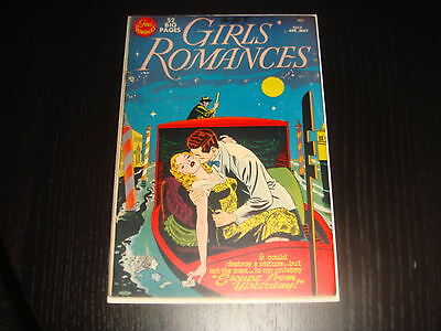GIRLS' ROMANCES #8 Golden Age Young Love Stories  ALEX TOTH DC Comics 1951 VG+