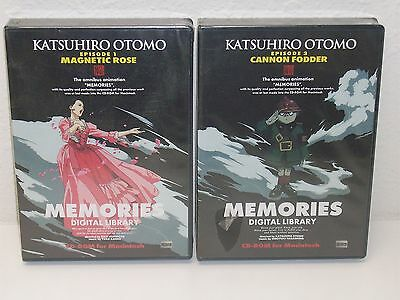 MEMORIES Episodes 1 & 3 - MACINTOSH CD-ROM - Anime ART GALLERY Production Design