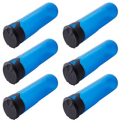 "Virtue ""Press Flick"" Pods - PF135 - Cyan - 6 Pack"