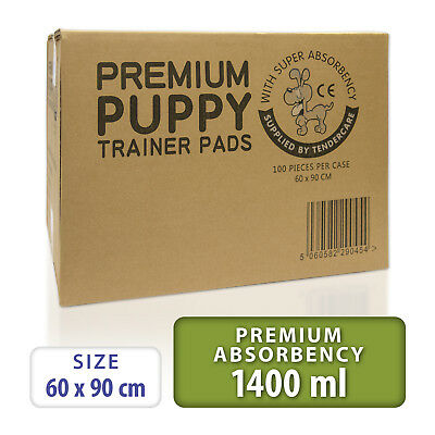 100 Puppy Trainer Training Pads (60 x 90cm) Extra Large Size