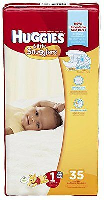 NEW Huggies Little Snugglers Diapers - 35 ct.  Size 35 ct