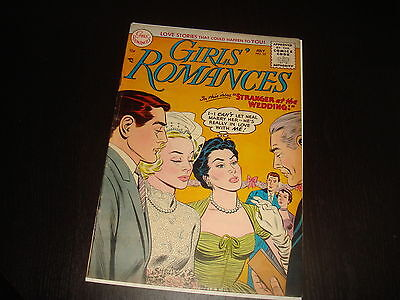 GIRLS' ROMANCES #33  Golden Age Young Love Stories  DC Comics 1955 FN