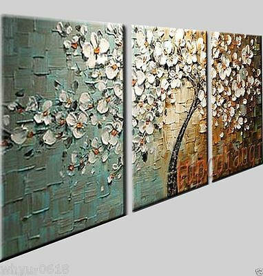no FRAMED! MODERN Abstract Canvas Art Oil Painting wall decorate tree art
