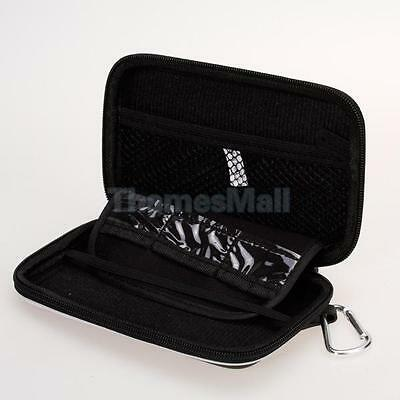 Black Travel Carry Case Pouch Bag for Nintendo DSi NDSi with Carabiner clip