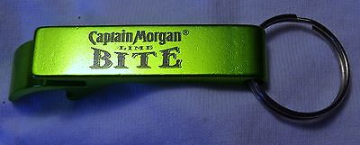 Captain Morgan Lime Bite Key Chain - Bottle Opener - Lime Green Metal - NEW