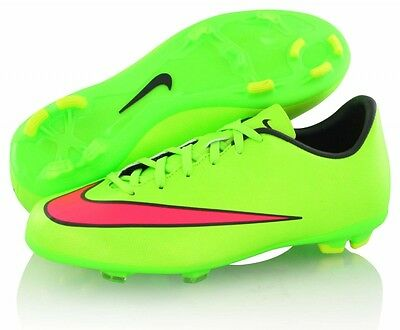 Nike Mercurial Victory V Junior Firm Ground Cleats 651634-360 soccer shoes $60