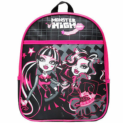 New Monster High Mini School Bag Rucksack Gift Official Licensed Premium NWT