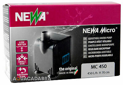 Newa Adjustable Micro Jet Water Pump Mc450 Kit Fish Tank Aquarium Hydroponic