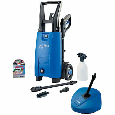 High Performance Pressure Washer With Patio Cleaner C110 4.5 X-Tra Nozzles Hose