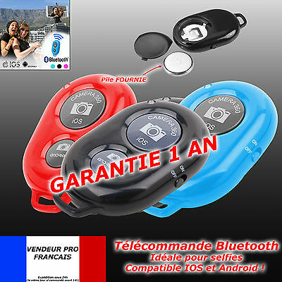 Télécommande BLUETOOTH Selfie déclencheur Photo iPhone Android Samsung ios apple