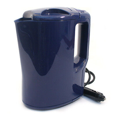 24V Electric Kettle Portable Van Car Lorry Cig Lighter 1Ltr Plug In  Motor Home