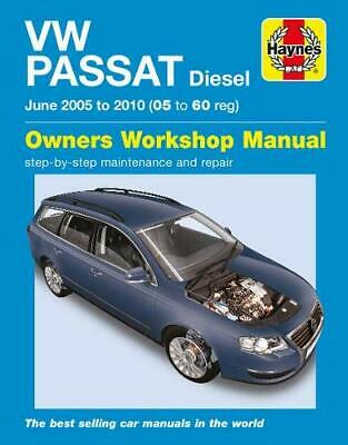 Haynes Manual 4888 Volkswagen VW Passat 1.9 SE 2.0 TDi PD Bluemotion 2005-10