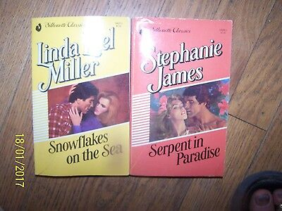 Lot 2 Silhouette Classics Soft Books by Linda Lael Miller & Stephanie James