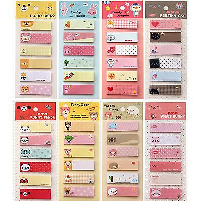 Lovely Convenient Office Memo Sticker Bookmark Marker Paper Sticky Notes