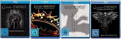 Game of Thrones Staffel 1-4 (1+2+3+4) Blu-ray Set NEU OVP