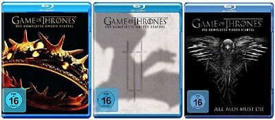 Game of Thrones Staffel 2-4 (2+3+4) Blu-ray Set NEU OVP