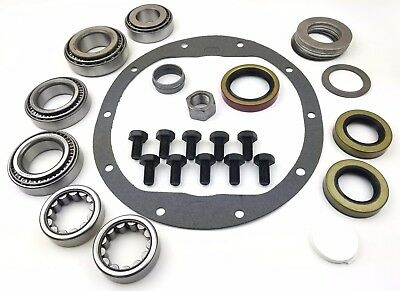 """8.5"""" Chevy 10-Bolt Master Bearing Kit Rear (72-98) with AXLE BEARINGS and SEALS"""
