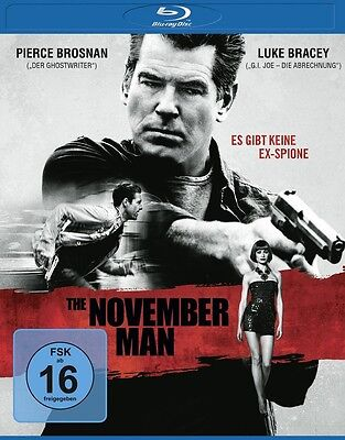 Blu-ray * The November Man * NEU OVP * Pierce Brosnan