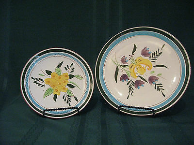 """Stangl Pottery 1Bread & Butter 1 8"""" Lunch Plate Pattern Country Gardens"""