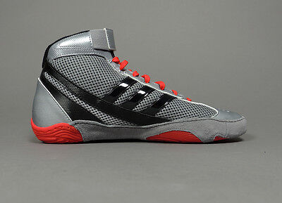NEW Adidas Response 3.1 Wrestling Shoes M18788  Silver Red Black Retail $95