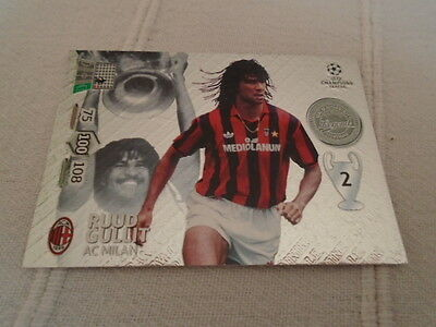 Panini Adrenalyn xl Champions League 2012/13 Ruud Gullit Legend card