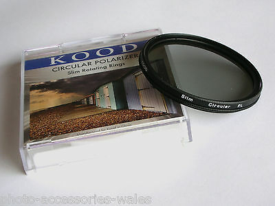 Kood 58Mm Super Slim Mount Circular Polarising Filter C-Pl Plc Cpl