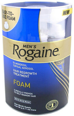 Regaine Mens Extra Strength Foam 3 Months Supply 3 X 60G Hair Loss