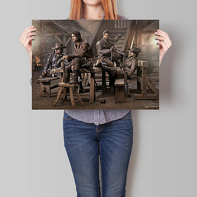 The Musketeers Poster TV Series A2 A3 A4