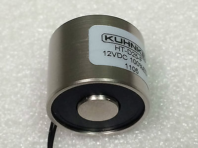 kuhnke, Magnetic clamp, 25 mm 115 N 4 W, HT-D25-F-12VDC