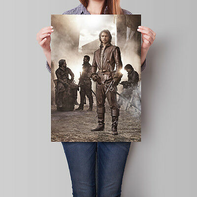 The Musketeers Poster TV Series Luke Pasqualino as D'Artagnan A2 A3 A4