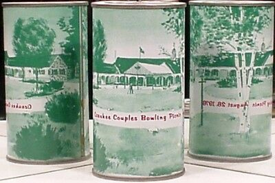 American Can Company August 28 1976 Ozaukee Bowling Green Air Filled Can 520 P/T