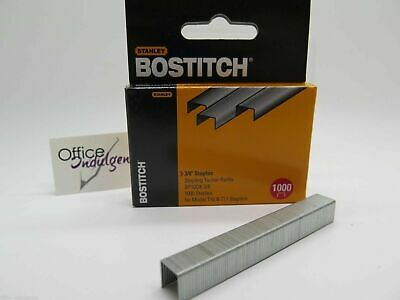 Bostitch Tacker SP10DK Staples 3/8 10mm Box of 1000 SP10DK38 for T10  ^
