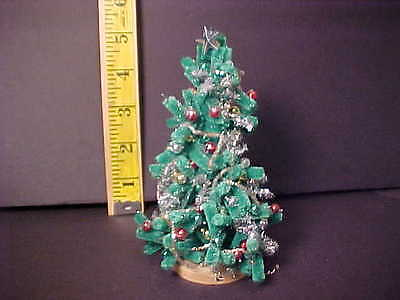 Dollhouse Miniatures One inch scale hand-crafted Christmas Tree