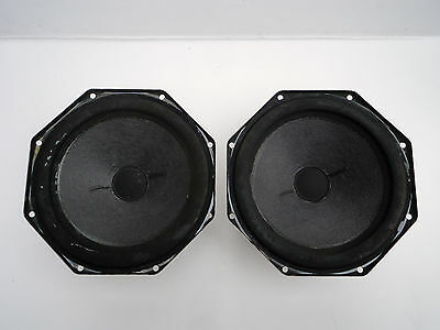 "Pair of Philips AD 8065 W8 8"" Woofers 8 ohms"
