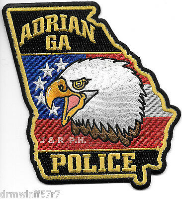 Adrian GEORGIA Police Patch
