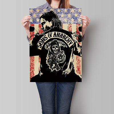 Sons of Anarchy Poster TV Series Wall Deco A2 A3 A4