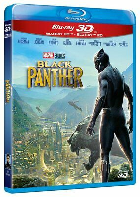 The Black Panther  3D  + 2D Blu Ray Español Nuevo Castellano Panter
