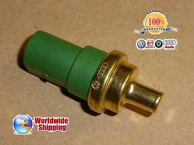 VW AUDI SEAT SKODA GENUINE OEM WATER COOLANT TEMPERATURE SENSOR 059919501A-NEW !