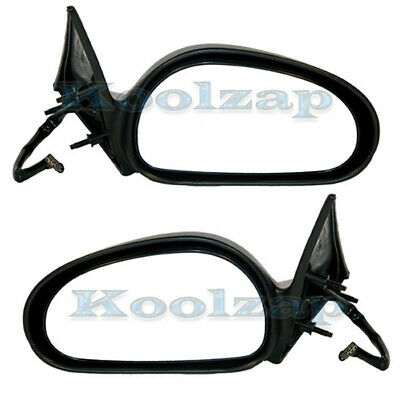 96-98 Mustang Non-Heated Power Black Fixed Rear View Mirror Left Driver Side NEW